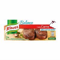 Caldo Knorr Balance Carne 12  cubos 114g - Cód. 7891150044111C80