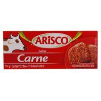 Caldo Arisco Carne 12 Cubos 114G - Cód. 7891700080378C4