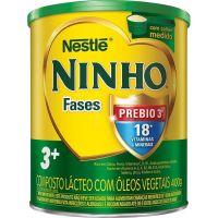 Leite Po Ninho 400G Crescimento Fases 3+ - Cód. 7891000003404C24
