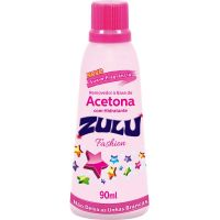 Removedor Acetona Zulu 90Ml Fashion - Cód. 7896090700301C12