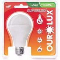 Lâmpada Ourolux Superled 6W Bivolt 6500K - Cód. 7898324003080