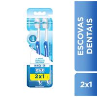 Escova Dental Oral-B Indicator Pro Saude Leve 2 Pague 1 - Cód. 7500435107754C3