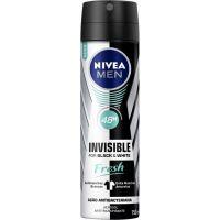 Desodorante Nivea Aero 150Ml Masculino Invisivel Fresh - Cód. 4005900449559C12