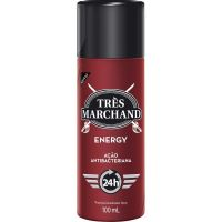 Desodorante Spray Tres Marchand Energy 100Ml - Cód. 7896094907676C12