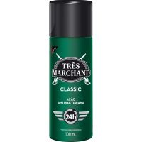 Desodorante Spray Tres Marchand Classic 100Ml - Cód. 7896094907546C12
