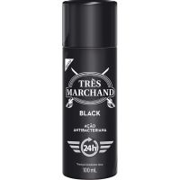 Desodorante Spray Tres Marchand Black 100Ml - Cód. 7896094907669C12