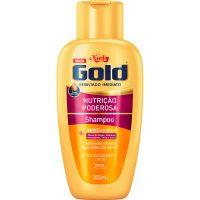 Shampoo Niely Gold 300Ml Nutri.Poderosa - Cód. 7896000722508C12