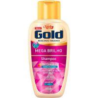 Shampoo Niely Gold 300Ml Mega Brilho - Cód. 7896000725219C12