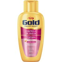 Shampoo Niely Gold 300Ml Controle Queda - Cód. 7896000713254C12
