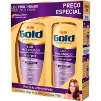 Shampoo Niely 300Ml+Condicionador 200Ml Liso Prolongado - Cód. 7896000713186C12