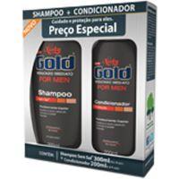 Shampoo Niely 300Ml+Condicionador 200Ml For Men - Cód. 7896000715326C12