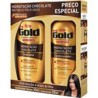 Shampoo Niely 300Ml+Condicionador 200Ml Chocolate - Cód. 7896000724564C12