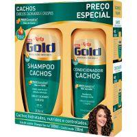 Shampoo Niely 300Ml+Condicionador 200Ml Cachos - Cód. 7896000724595C12