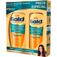 Shampoo Niely 300Ml+Condicionador 200Ml Argan Pós Quími - Cód. 7896000717658C12