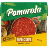 Molho Pomarola Peneirado 520g - Cód. 7896036095102C12