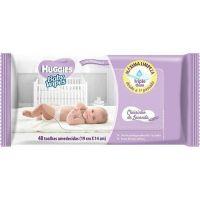 Lenço Umedecido Baby Wipes Huggies 48Un Lavanda - Cód. 7896018703643C12