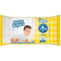 Lenço Umedecido Baby Wipes Huggies 48Un - Cód. 7896018703063C3