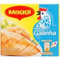 Caldo Maggi 63G Galinha - Cód. 7891000528709C10
