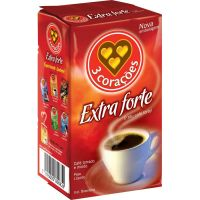 Cafe 3 Coracoes 500G Vacuo Extra Forte - Cód. 7896005801826C10