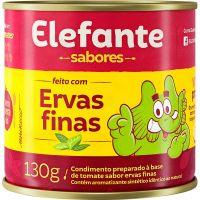 Extrato De Tomate Elefante Ervas Finas 130g - Cód. 7896036097342C48