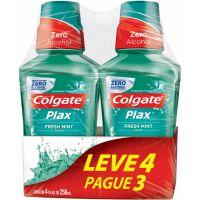 Enxaguante Bucal Colgate Plax Fresh Mint 250Ml Lv4 Pg3 - Cód. 7891024029886C4