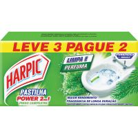 Desodorizador Harpic Pastilha Ades. L3 P2 Pinho 2 Em 1 - Cód. 7891035560774C3