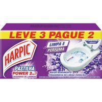 Desodorizador Harpic Pastilha Ades. L3 P2 Lavanda 2Em1 - Cód. 7891035560767C24