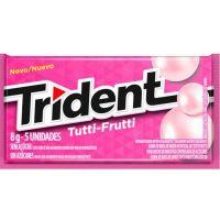 Chiclete Trident Tutti Frutti 8g - Cód. 7895800400166C21