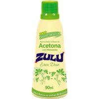 Removedor Acetona Zulu 90Ml Erva Doce - Cód. 7896090700363C12