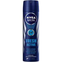 Desodorante Aero Nivea Masculino Fresh Active 150Ml - Cód. 7791969016005C12