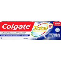 Creme Dental Colgate Total 12 Professional Whitening 70g - Cód. 7891024135358C12