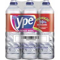 Lava Roupa Líquido Ype 500Ml 6Un Clear 10% Gratis - Cód. 7896098900840C4