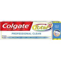 Creme Dental Colgate Total 12 Professional Clean 70G - Cód. 7891024135365C48