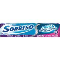 Creme Dental Sorriso Tripla 123 Limpeza Completa 70G - Cód. 7891528029498C12