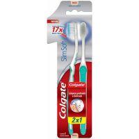 Escova Dental Colgate Slim Soft Macia 2Un Lv 2 Pg 1 - Cód. 7591083017823C12