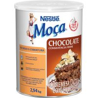 Recheio E Cobertura De Chocolate Moça 2,54Kg - Cód. 7891000004234C6