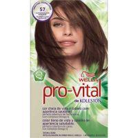 Tintura Wella Pro-Vital 57 Castanho Claro - Cód. 7506195160879C12