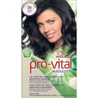 Tintura Wella Pro-Vital 20 Preto - Cód. 7506195160787C12