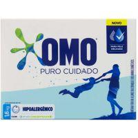 Detergente em Po Ativo Concentrado Omo Puro Cuidado Caixa 1,6Kg - Cód. 7891150064676C9