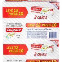 Creme Dental Colgate Total 12 90G L12 P10 Clean - Cód. 7891024025017C4