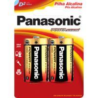 Pilha Panasonic Alcalina 2Un Grande Sm - Cód. 7896067200148C12