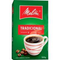 Cafe Melitta 500G Vacuo Tradicional - Cód. 7891021006125C20