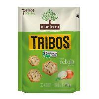 Biscoito Orgânico Tribos Cebola 50g - Cód. 7896496917044C18