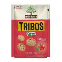 Biscoito Orgânico Mãe Terra Tomate e Manjericão 25g - Cód. 7896496917303C4