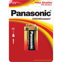 Bateria Panasonic Alcalina 9V 1Un - Cód. 7896067203460C6