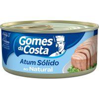 Atum Gomes Da Costa Solido Natural 170G - Cód. 7891167011755C24