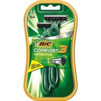 Aparelho de Barbear Bic Comfort 3 2Un P Sensivel - Cód. 070330717527C12