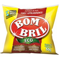 Lã De Aço Bombril 8Un - Cód. 7891022101119C140