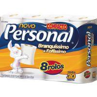 Papel Higienico Personal 8X30M Neutro - Cód. 7896110091846C8