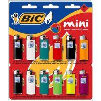 Isqueiro Bic Mini Cartela Com 12 Unidades - Cód. 70330631328